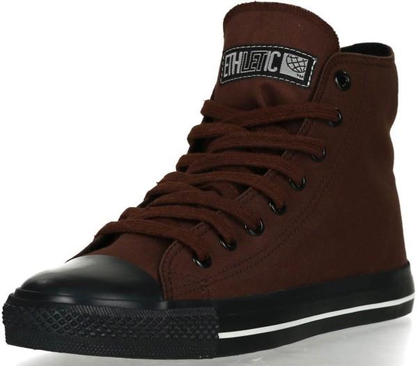 Hi-Cut Sneaker in nut brown - Fairtrade