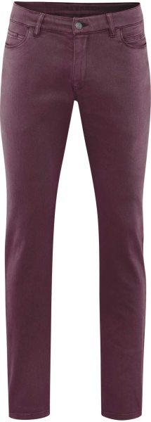 5-Pocket-Hose aus Bio-Baumwolle - bordeaux