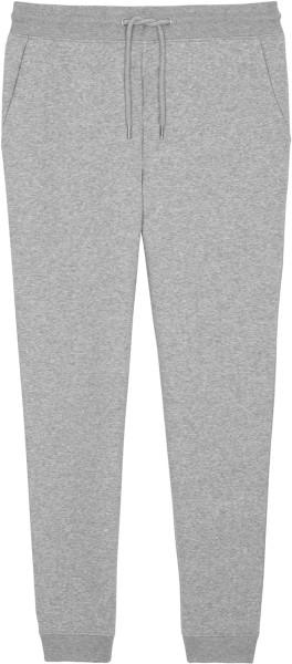 Jogginghose aus Bio-Baumwolle - heather grey
