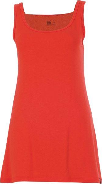 Träger-Longshirt - Viskose - orange