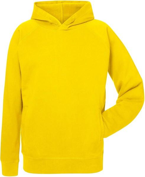 Kapuzenpullover Bio-Baumwolle - golden yellow