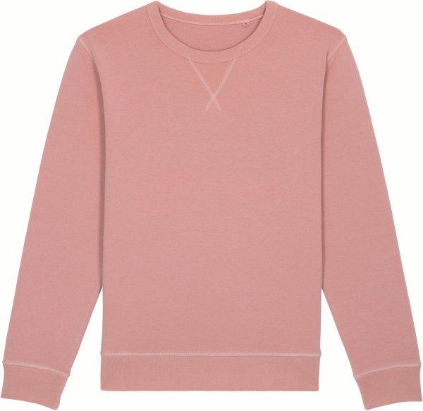 Vintage Sweatshirt aus Bio-Baumwolle - g. dyed canyon pink