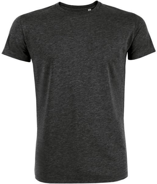 Leads - T-Shirt aus Bio-Baumwolle - dunkelgrau-meliert - Bild 1
