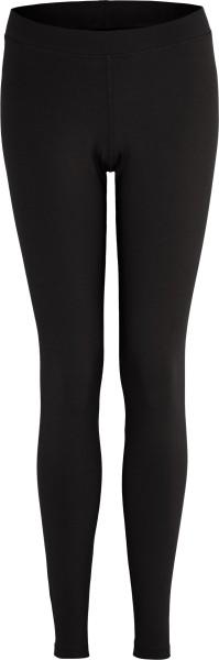 Leggings aus Bio-Baumwoll-Jersey - schwarz
