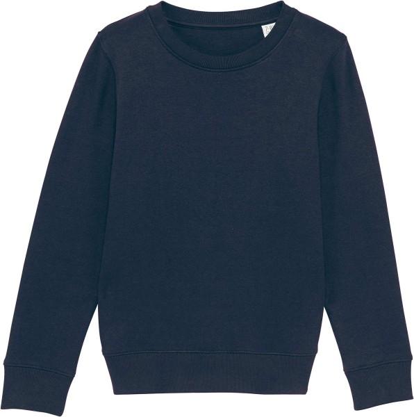Kinder Sweatshirt aus Bio-Baumwolle - french navy