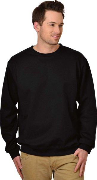 Change - Sweatshirt aus Biobaumwolle schwarz - Bild 1