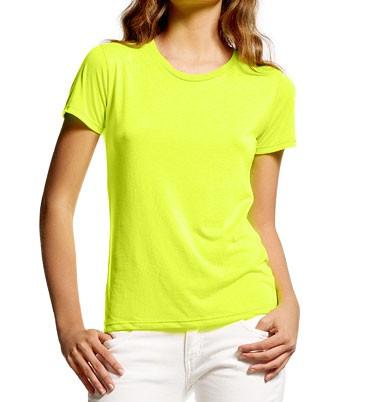 Ultra-Fine Fluorescent T-Shirt neongelb - Bild 1
