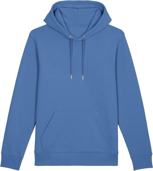 Unisex Hoodie aus Bio-Baumwolle - bright blue