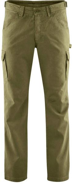 Field Pants - Cargohose aus Hanf und Bio-Baumwolle - peat