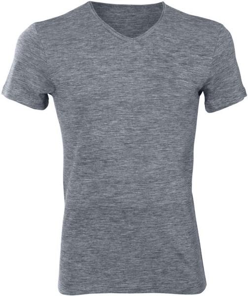 Kurzarm-Shirt - Bio-Wolle und Bio-Baumwolle sapphire blue - Bild 1