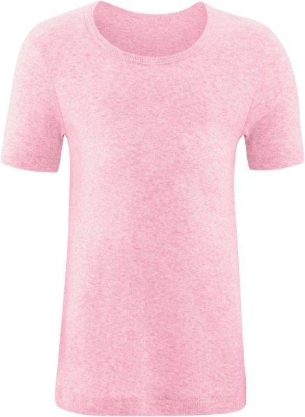 Kinder T-Shirt aus Bio-Baumwolle - rose melange