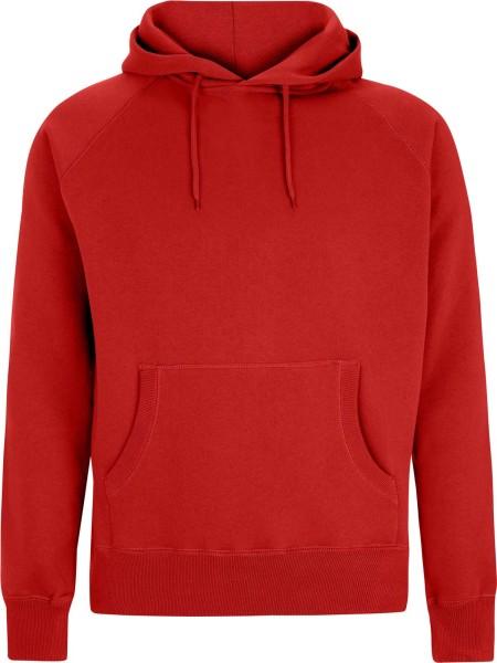 Pullover Hooded Sweatshirt - red