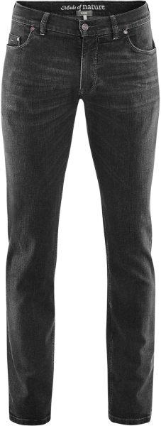5-Pocket-Jeans aus Bio-Baumwolle - blacked washed