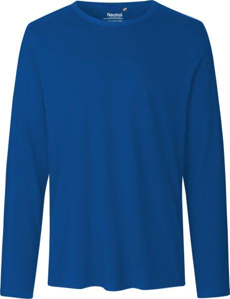 Longsleeve aus Fairtrade Bio-Baumwolle - royal blue