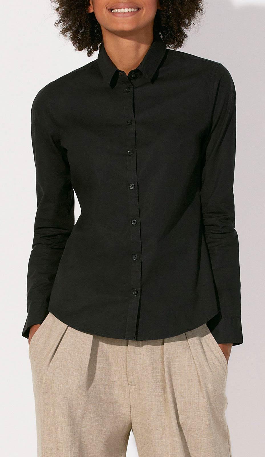 fair trade damen poloshirts blusen aus bio baumwolle. Black Bedroom Furniture Sets. Home Design Ideas