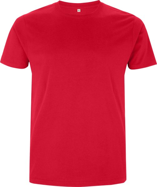 Rotes Shirt labelfrei fair