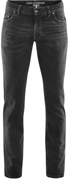 5-Pocket-Jeans aus Bio-Baumwolle - black washed