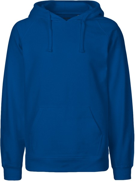 Hooded Sweatshirt aus Fairtrade Bio-Baumwolle - royal blue
