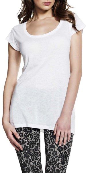 Tencel Sheer Jersey T-Shirt - white - Bild 1