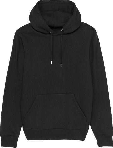 Unisex Hoodie aus Bio-Baumwolle - black