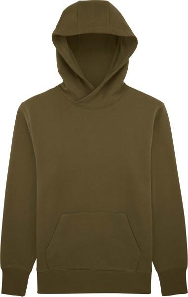 Lässiger Hoodie aus Bio-Baumwolle - british khaki