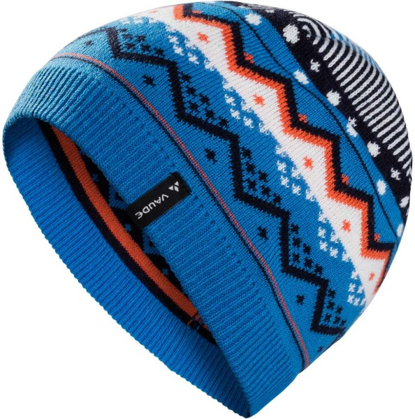 Kinder Mütze Berg Beanie II - eclipse/blue