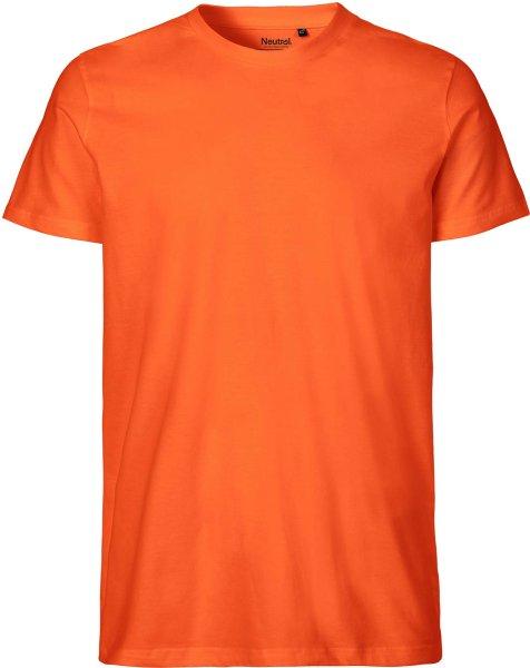 Organic Fitted T-Shirt Fairtrade orange - Bild 1