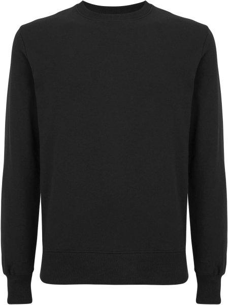 Unisex Sweatshirt aus Biobaumwolle - black