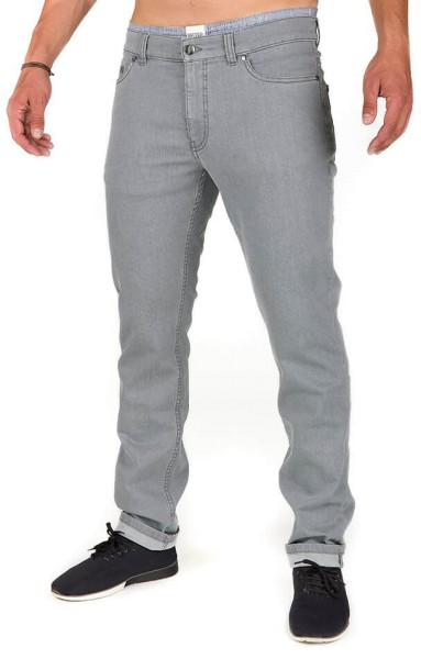 Organic Cotton Jeans - Slim Fit - grey